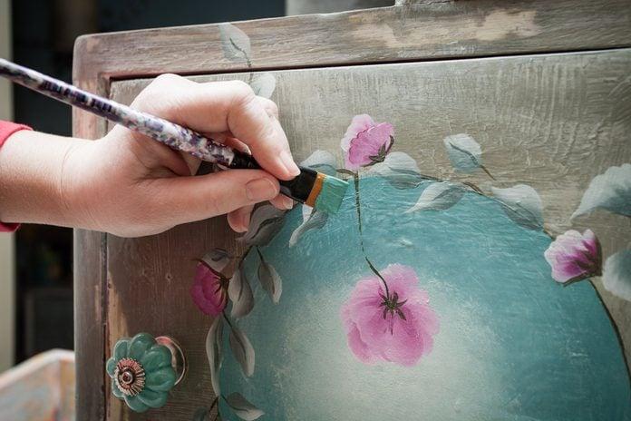 artistic painting furniture