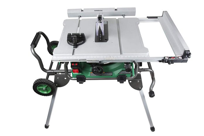 Metabo Job Site Table Saw With Stand