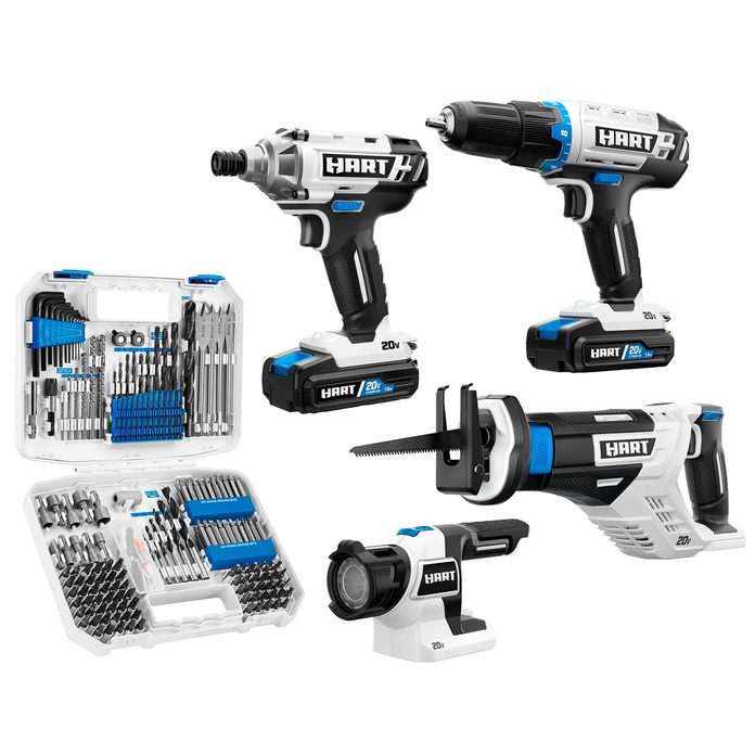 hart tool combo kit