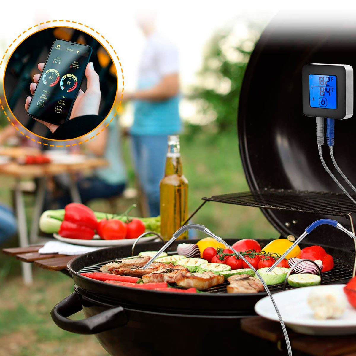 remote meat thermometer