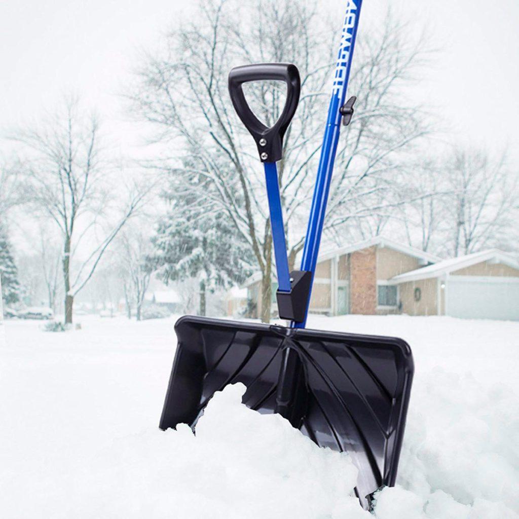 Plastic Scoop Poly D-Grip Handle Lawn Farm Garden Snow Removal Spade Fork Sho FB