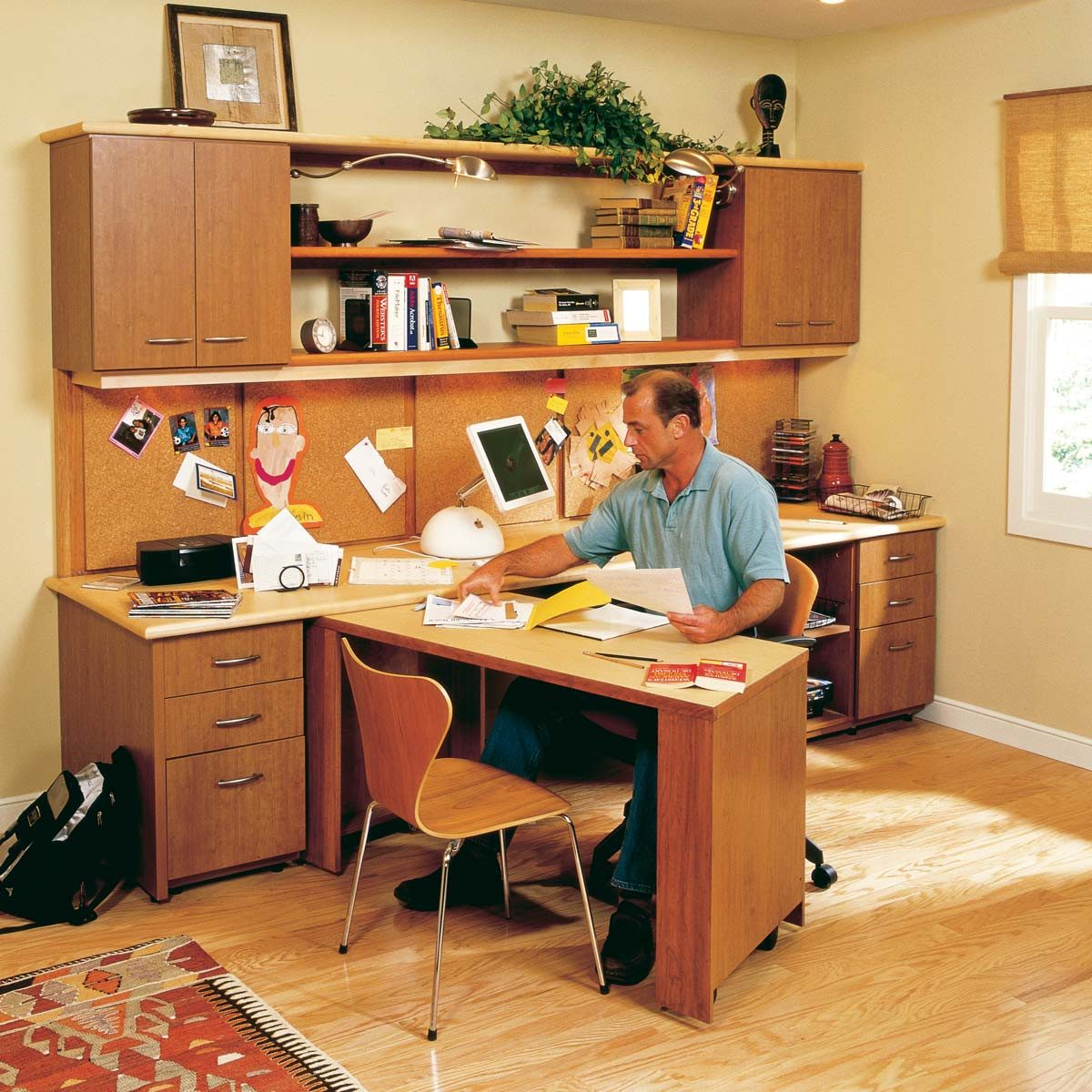 Home Office Desk Ideas For Anyone And Any Space Family Handyman