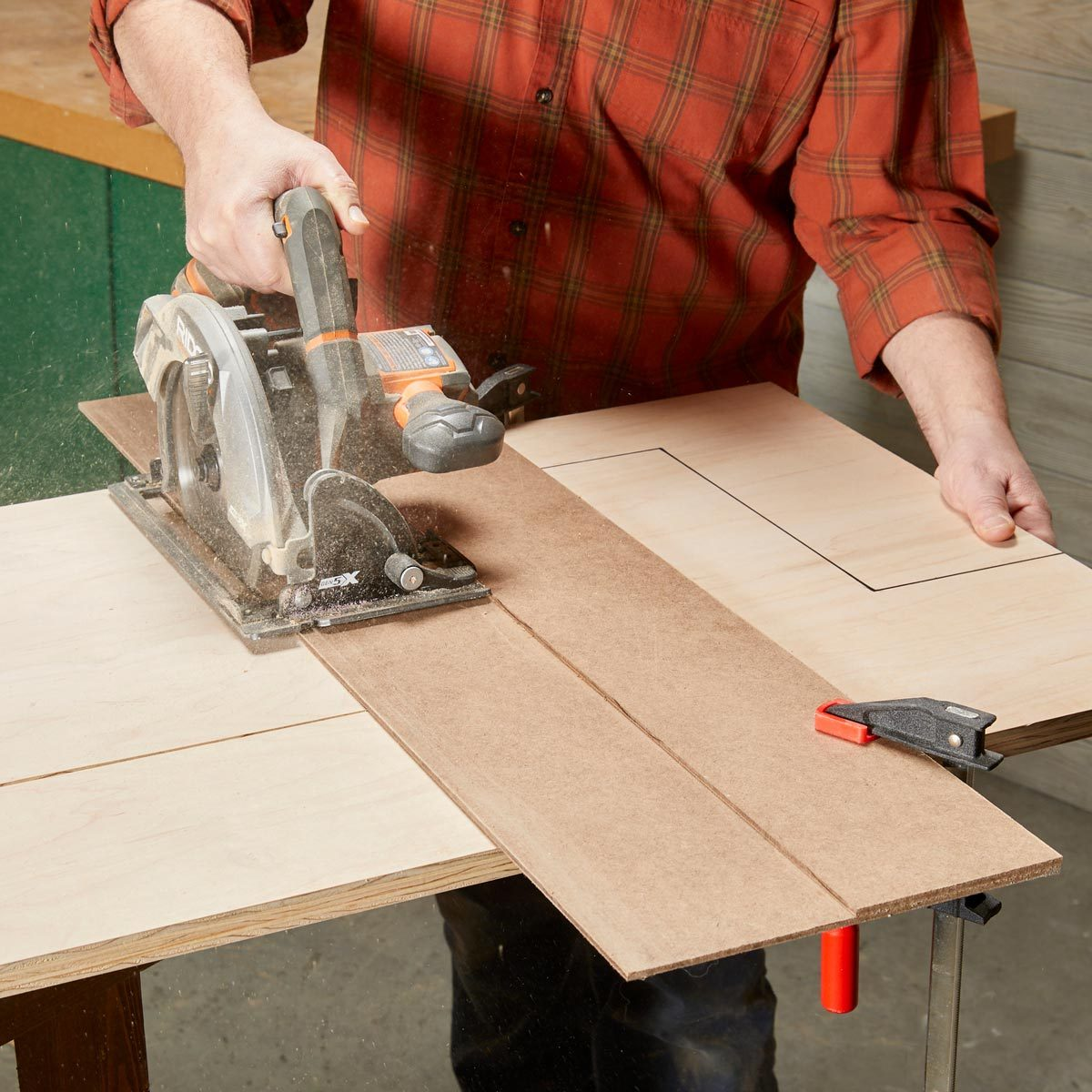murphy bed cutting guide