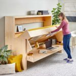 How to Build a Murphy Bed that Easily Transforms into a Desk