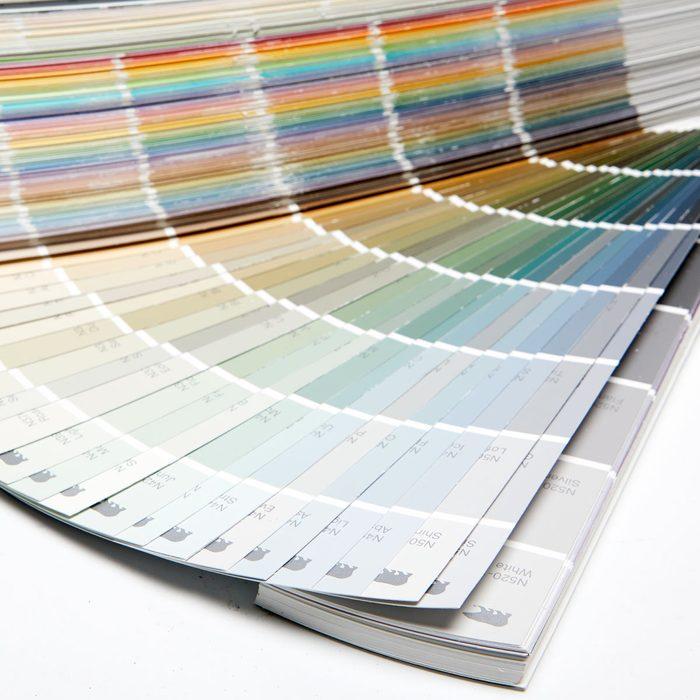 paint samples color