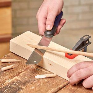 How to Create a Jig for Pocket Hole Plugs