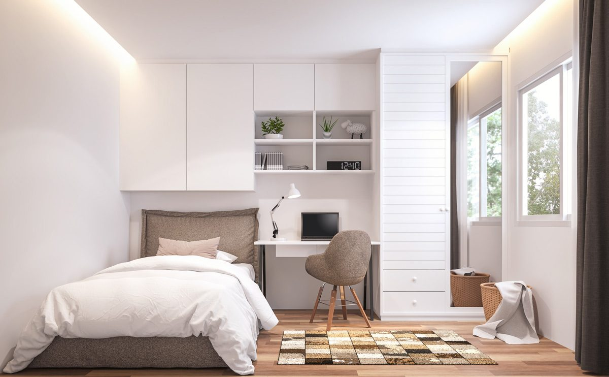 How to Organize a Small Bedroom to Maximize Space  Family Handyman