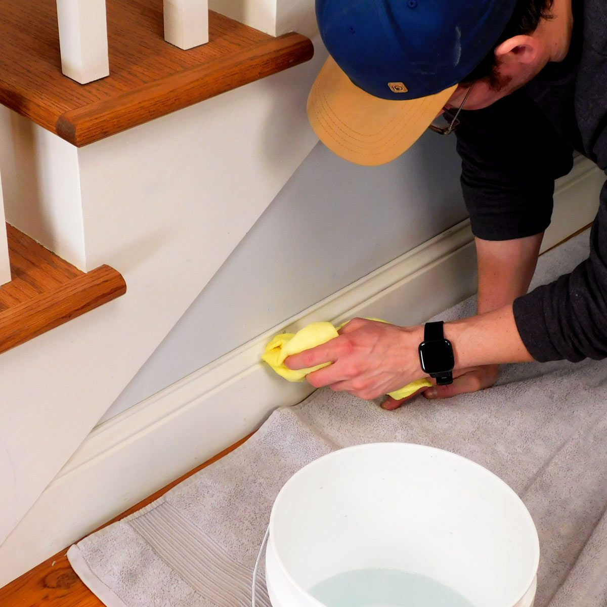 How To Clean Baseboards The Family Handyman