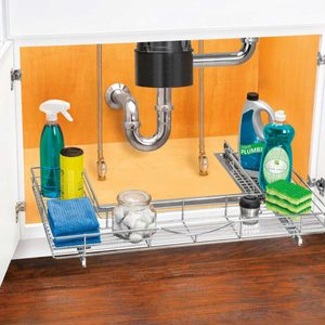 11 Organizers for Under the Bathroom or Kitchen Sink