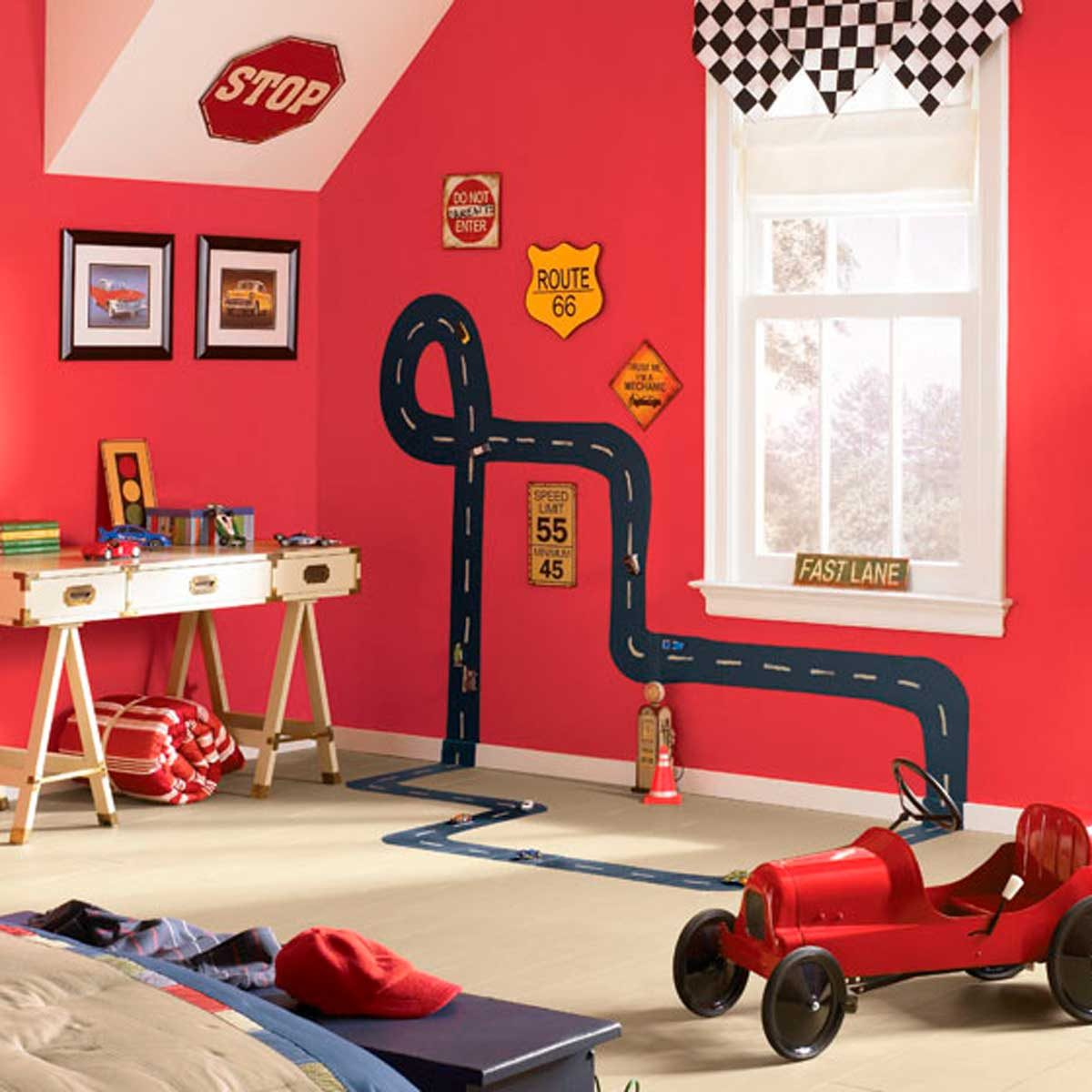 10 Ideas For Painting A Boys Bedroom