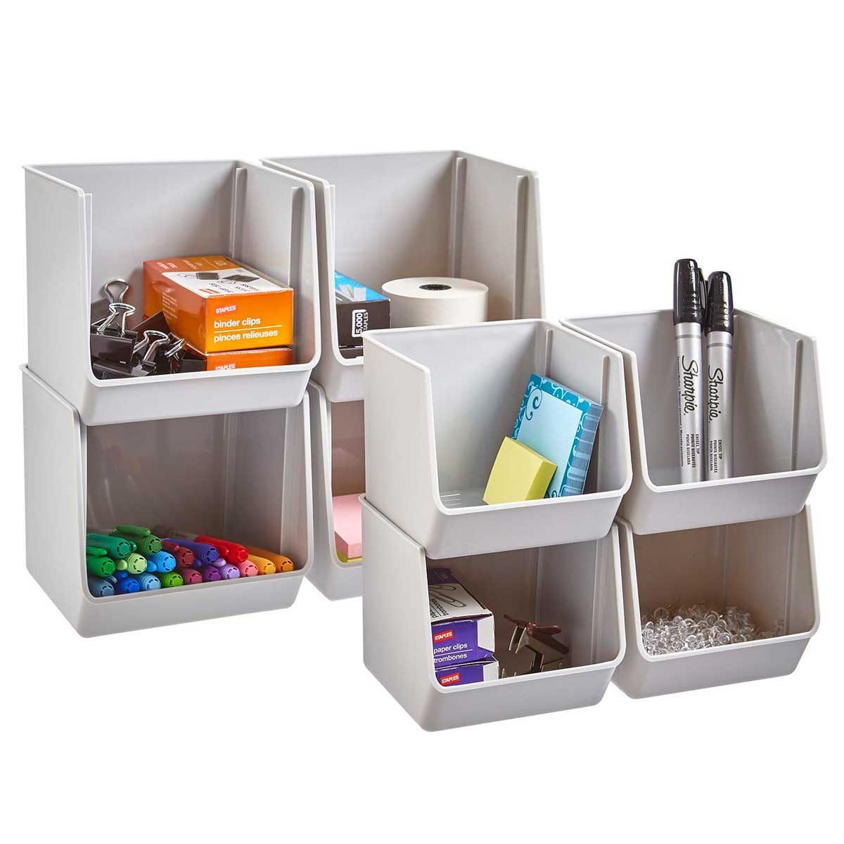 stackable bins