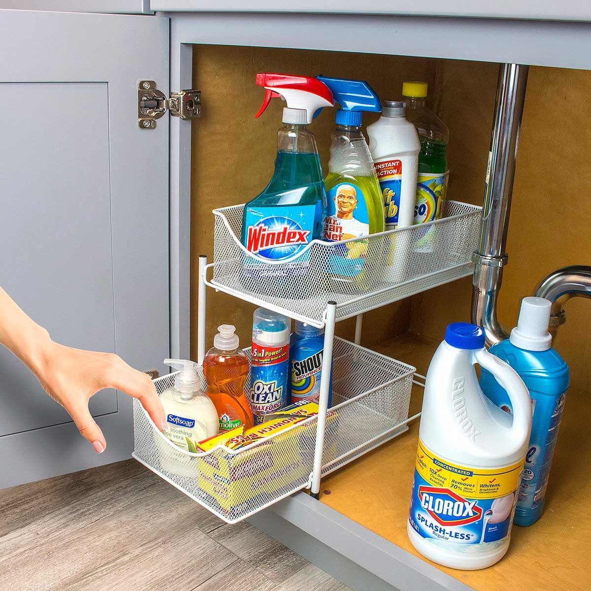 two-drawer organizer
