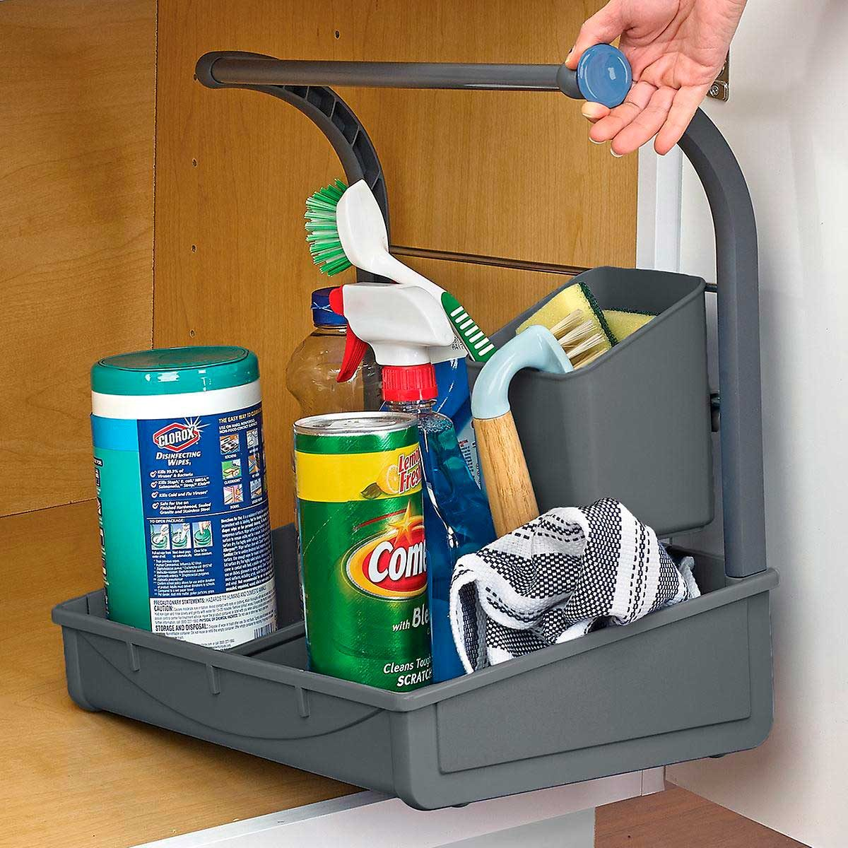 undersink storage caddy