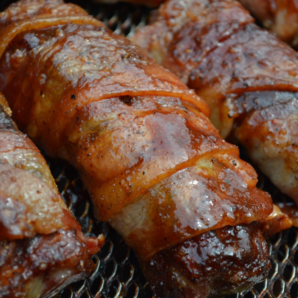 bacon wrapped ribs