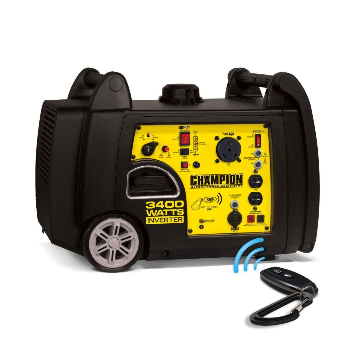 Photo of a Champion generator