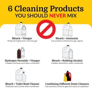 6 Cleaning Products You Should Never Mix