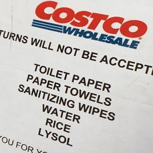 Costco Won't Let Shoppers Return Toilet Paper and Other High-Demand Items