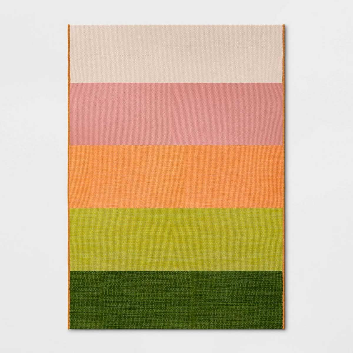 target colorblock rug