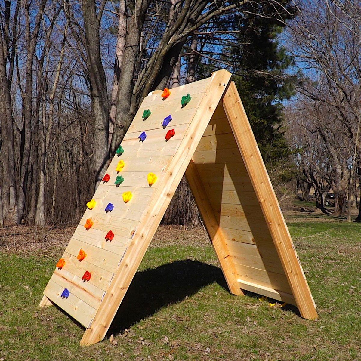 How To Build A Kids Climbing Wall Diy Family Handyman