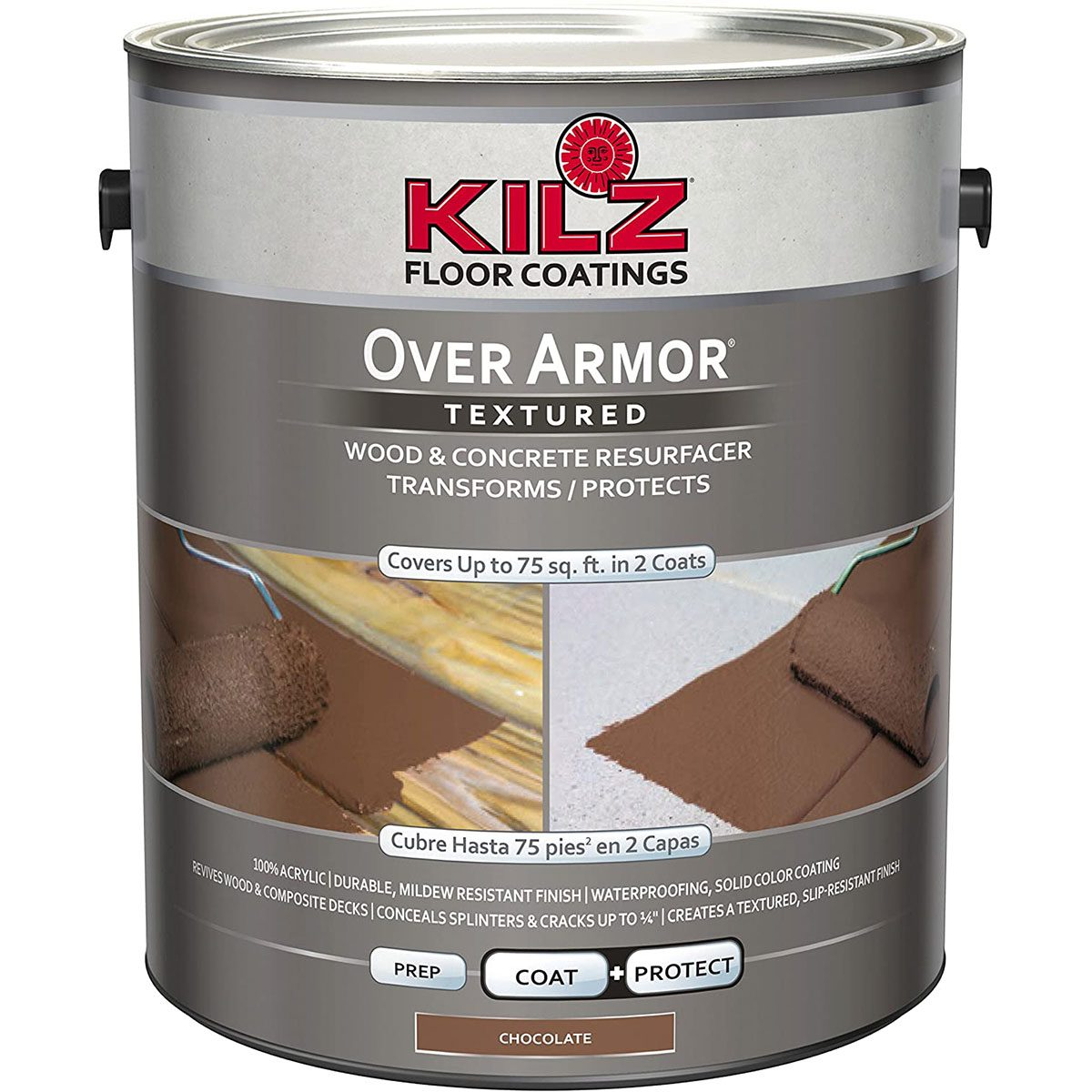 Can of Kils textured wood coating