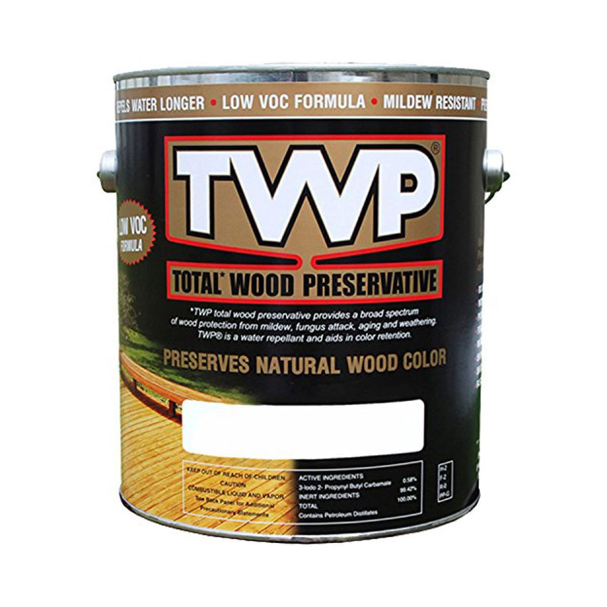 Can of TWP wood color