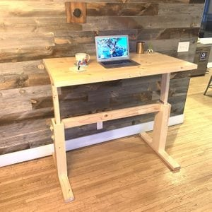 Sit or Stand: How to Make Your Own Adjustable DIY Desk