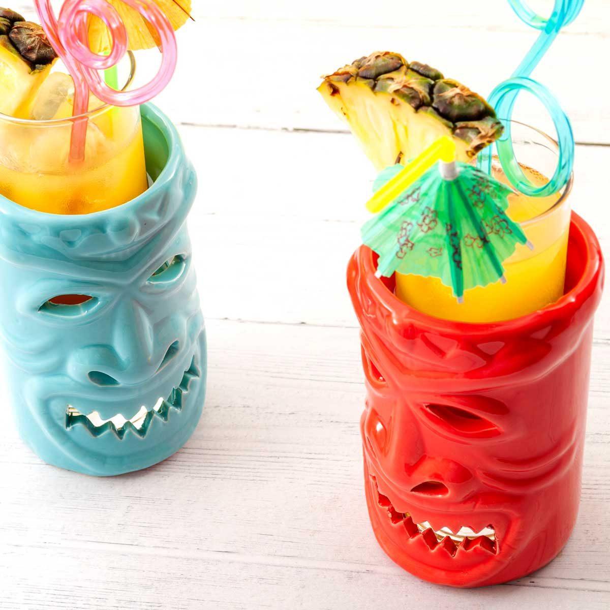 Tiki mugs