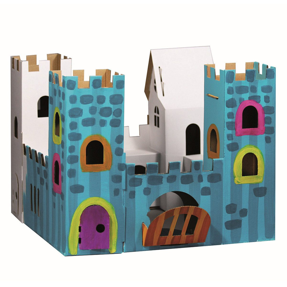 castle diy kids project carboard