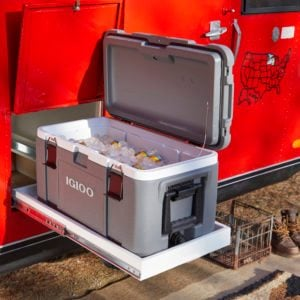 Creative Camper Solution Adds Cool Convenience