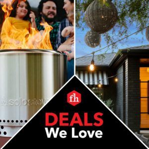 Deals We Love: Outdoor Space Accessories