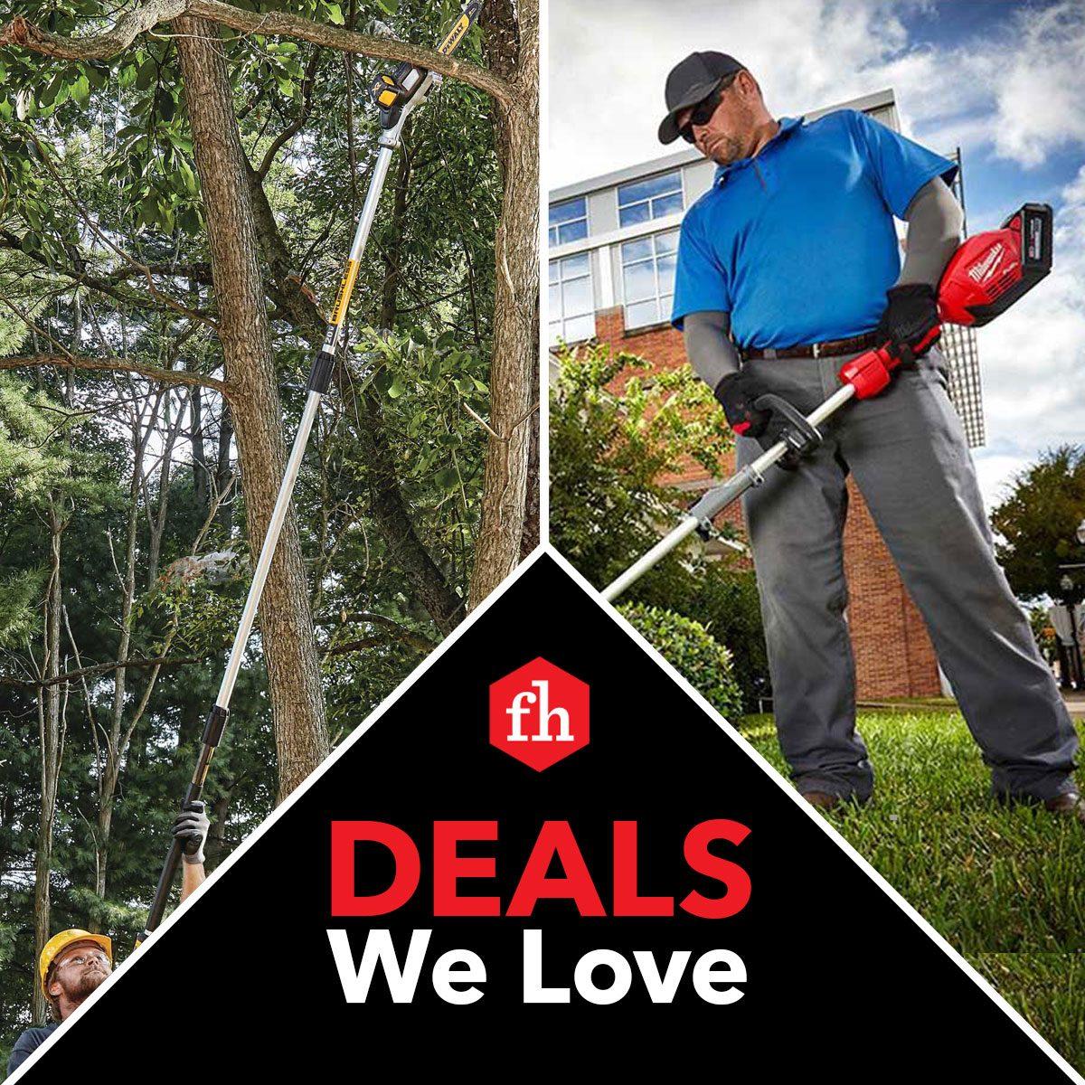 Deals We Love: Cordless Yard Tools