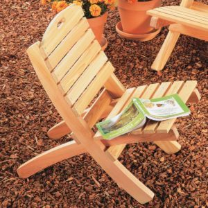 How to Build a Patio Chair
