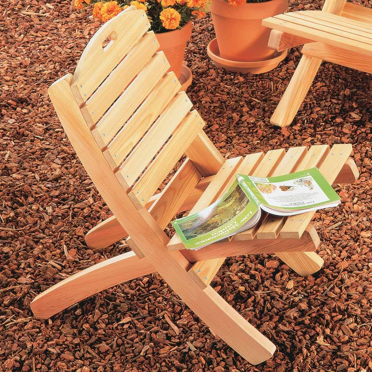 Build a Foldable Patio Chair