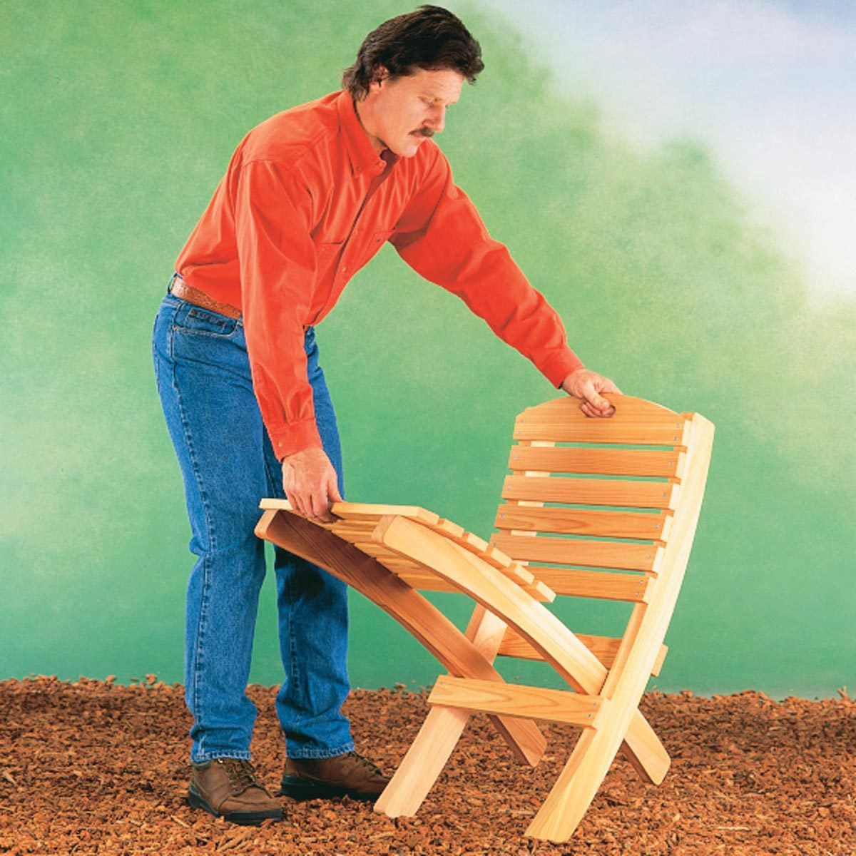foldable patio chair