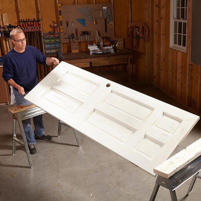 painting a door tip flip