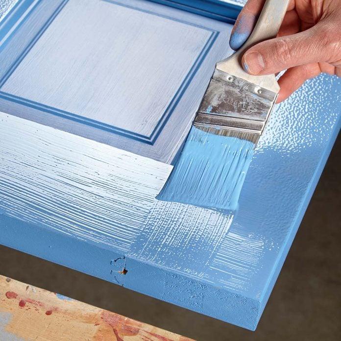 paint a door brush strokes