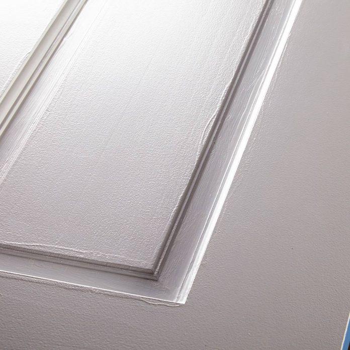 Water-Based Alkyd is Best flaws in door paint job