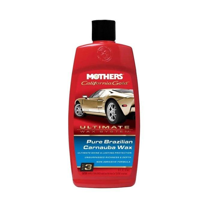 Natural car wax