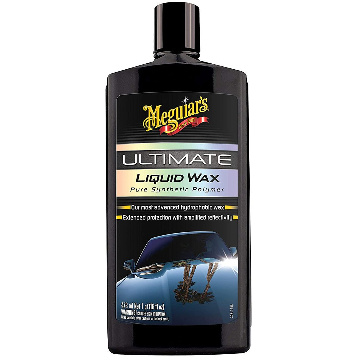 Liquid car wax
