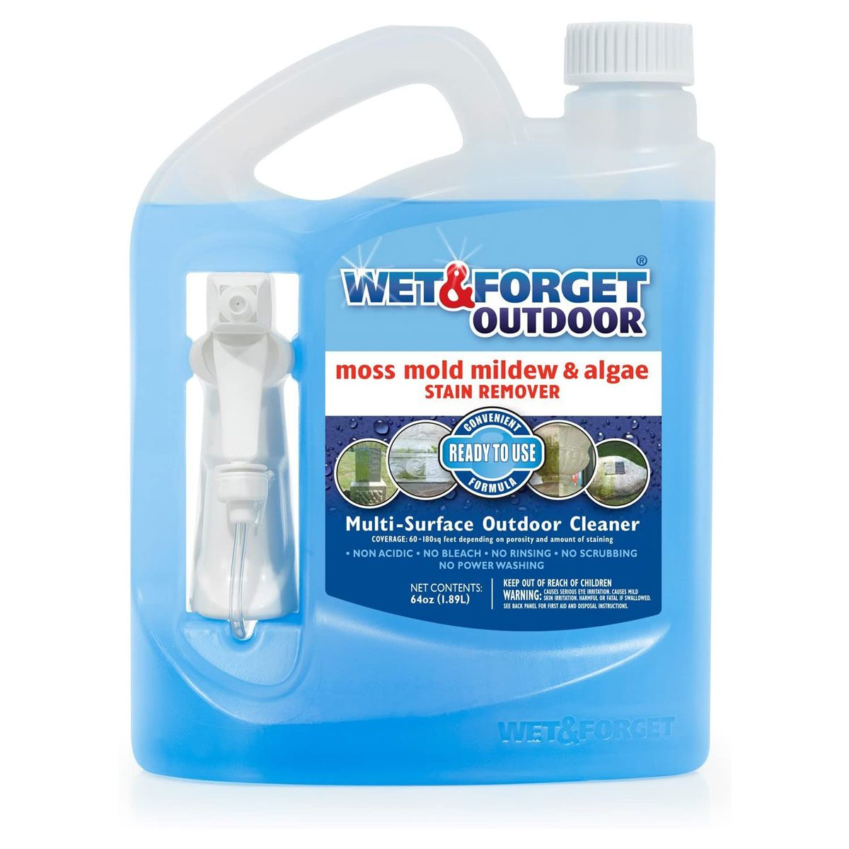 Outdoor mold remover