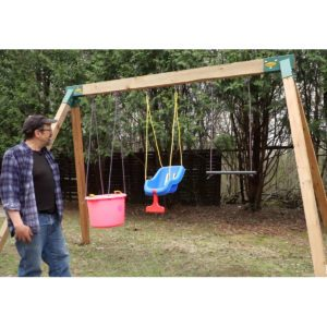 How to Build an Easy DIY Swing Set