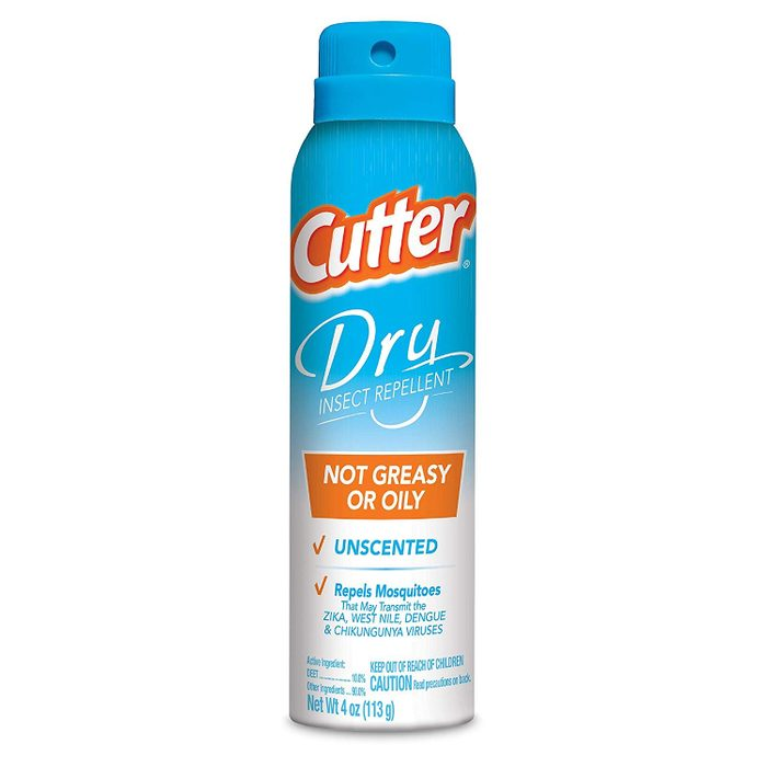 cutter dry insect repellent
