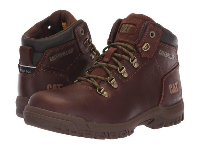 aterpillar Mae Steel Toe WP work boots