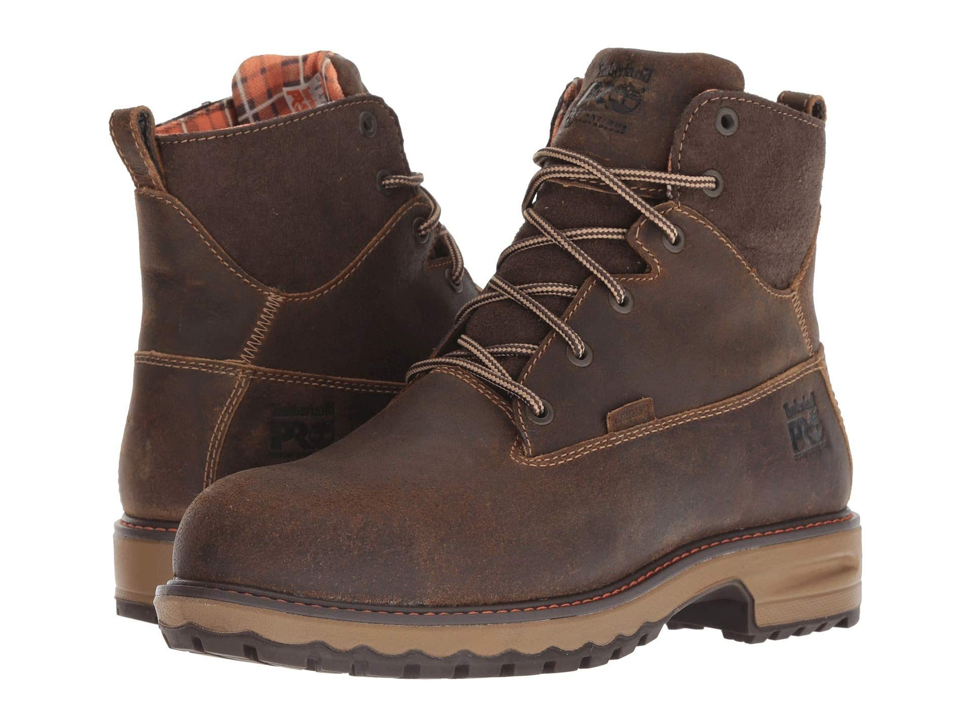 """Timberland PRO Hightower 6"""" Safety Toe WP 400 Insulated work boots"""