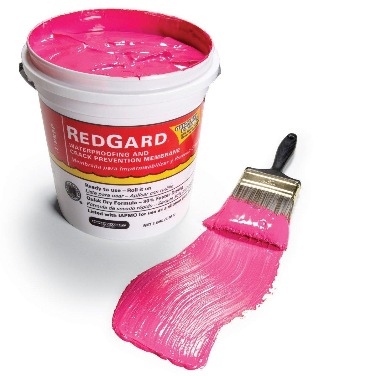 RedGard is a liquid waterproofing