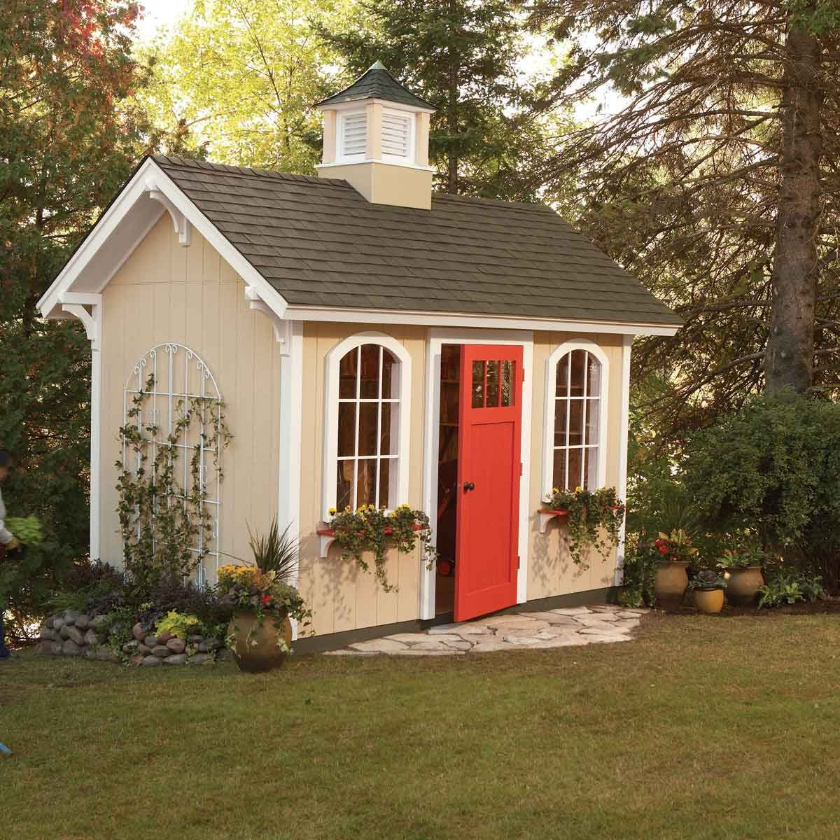 How to Build a Shed on the Cheap  The Family Handyman
