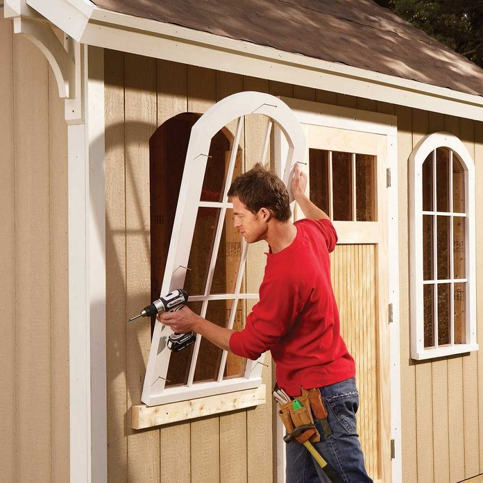 Building a cheap shed
