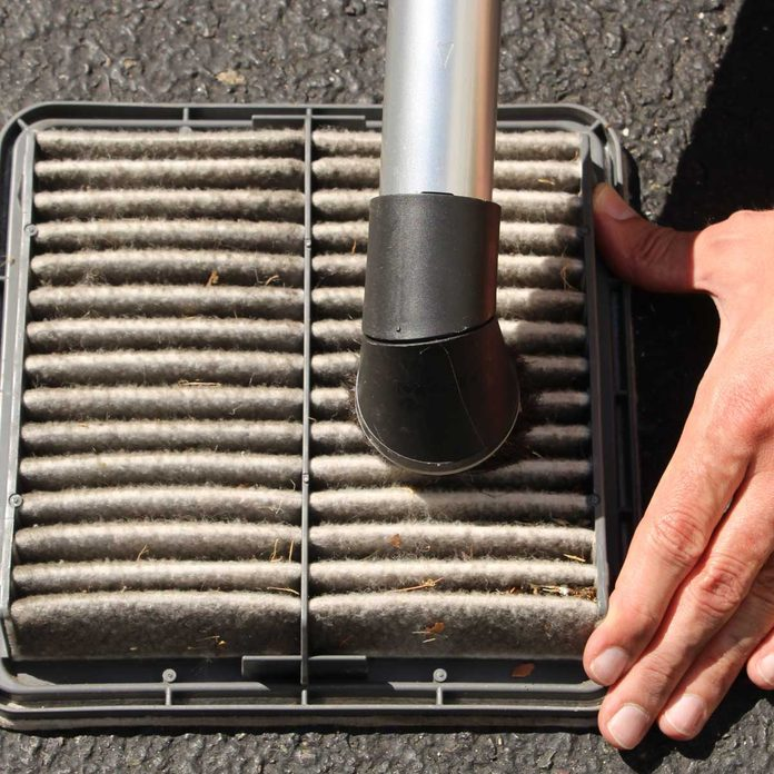 Vacuum the Air Filter