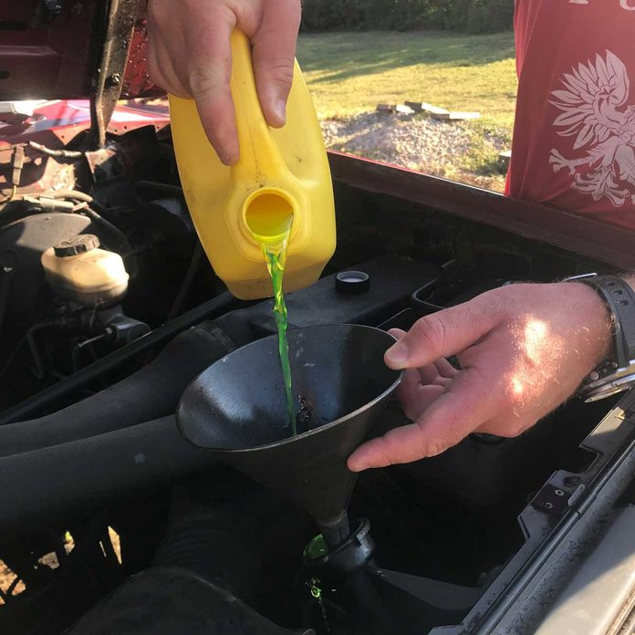 Add Fresh Coolant