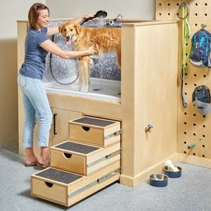 How to Build a Dog Washing Station
